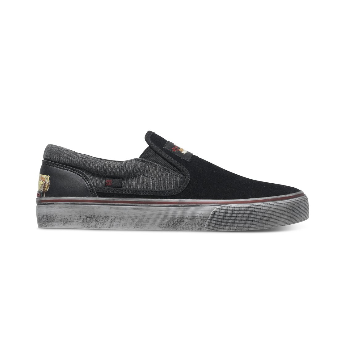 61200abed 0 Men s Trase S Cliver Slip-On Shoes ADYS300174 DC Shoes