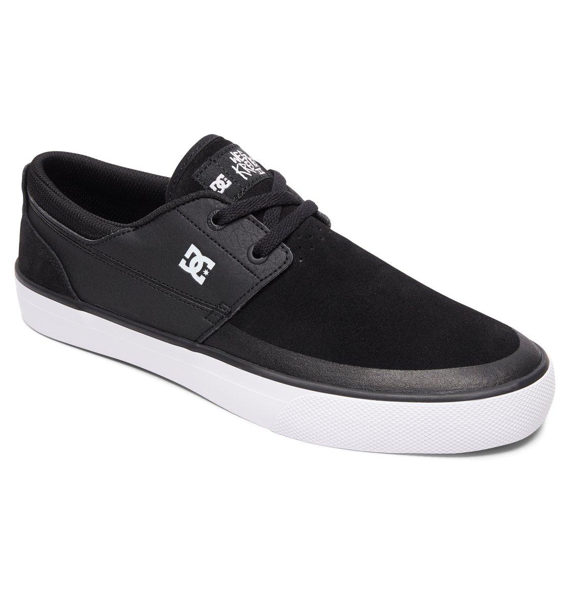 3a13d1b6e19f3e 1 Wes Kremer 2 S - Skate Shoes for Men Black ADYS300241 DC Shoes