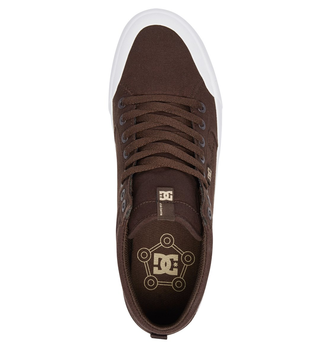 94a95c511f9194 3 Evan Smith Hi TX - High-Top Shoes for Men Brown ADYS300383 DC Shoes