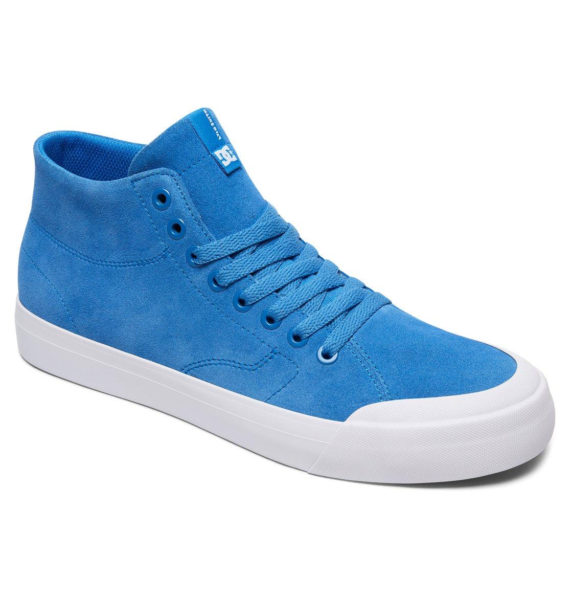 0a7cb501b0 1 Zapatos Parte Superior Alta HI Zero Evan Smith Azul ADYS300423 DC Shoes