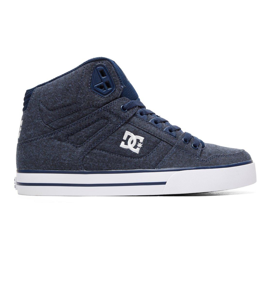 cbc74fdfc527e1 0 Pure WC TX SE - High-Top Shoes Blue ADYS400046 DC Shoes