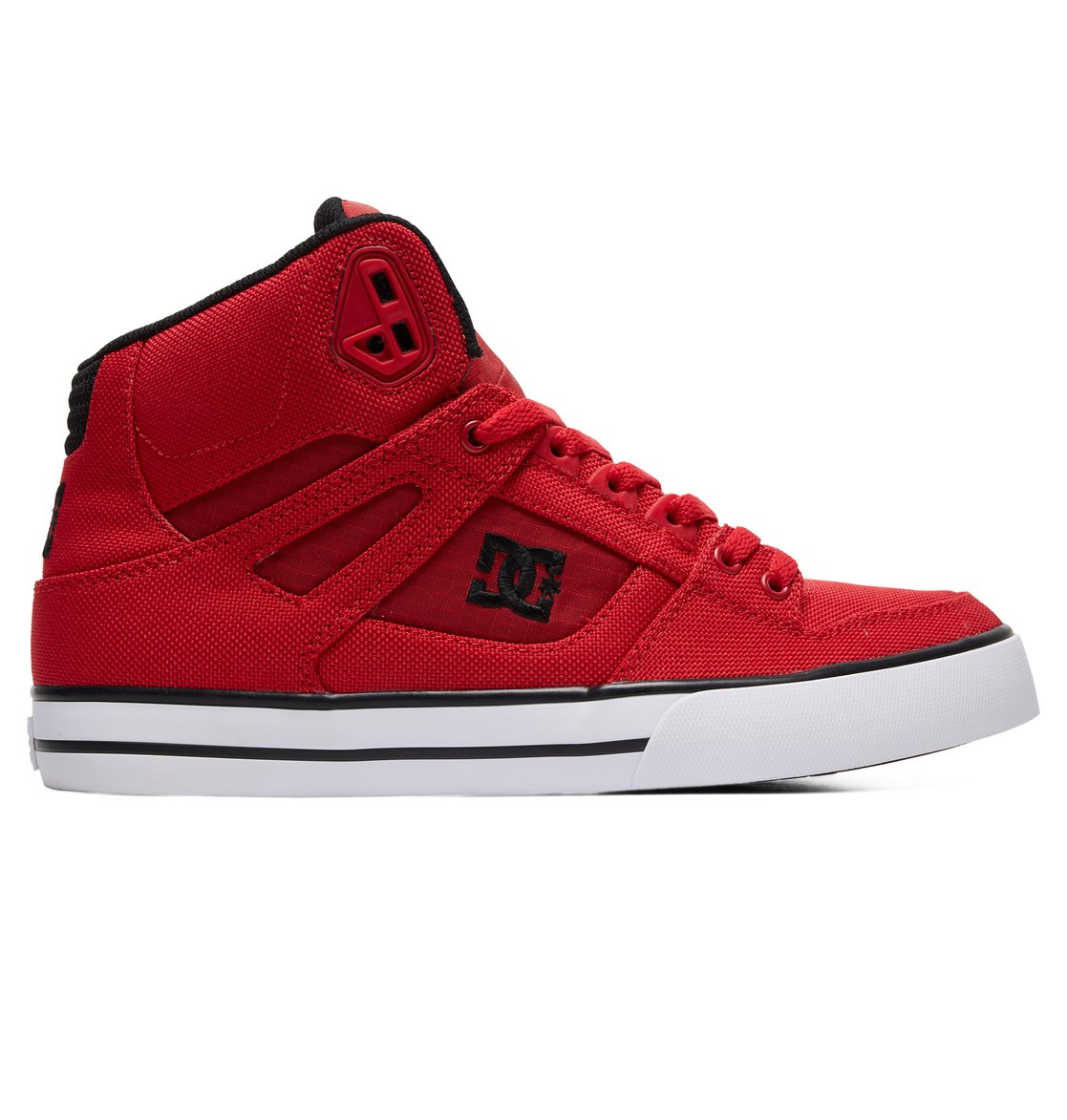 594ab04566ad5 0 Pure WC TX SE High-Top Shoes Red ADYS400046 DC Shoes