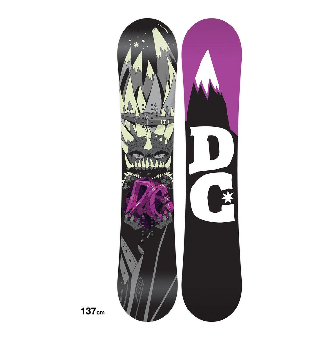 df62e76e1 0 Men's Focus Snowboard ADYSB00009 DC Shoes