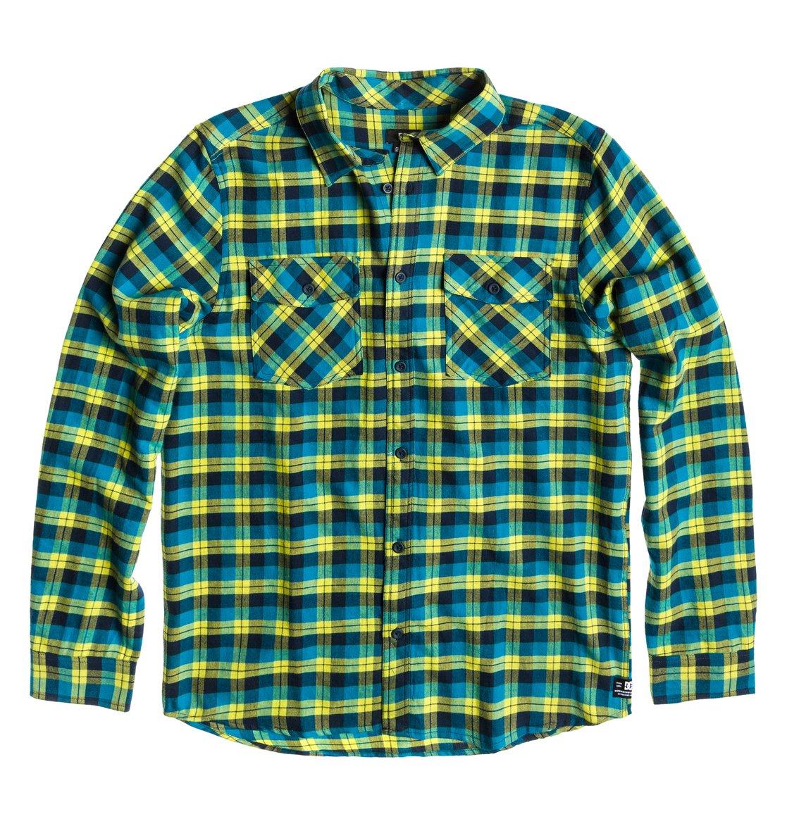 5e2d01d813404 0 Men s Long Sleeve Flannel Shirt ADYWT00012 DC Shoes