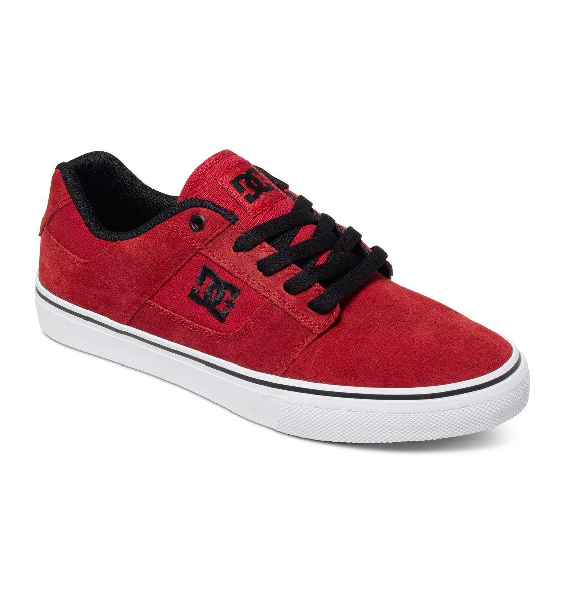 332c16d376845 1 Tênis masculino Bridge Vermelho BR320096 DC Shoes