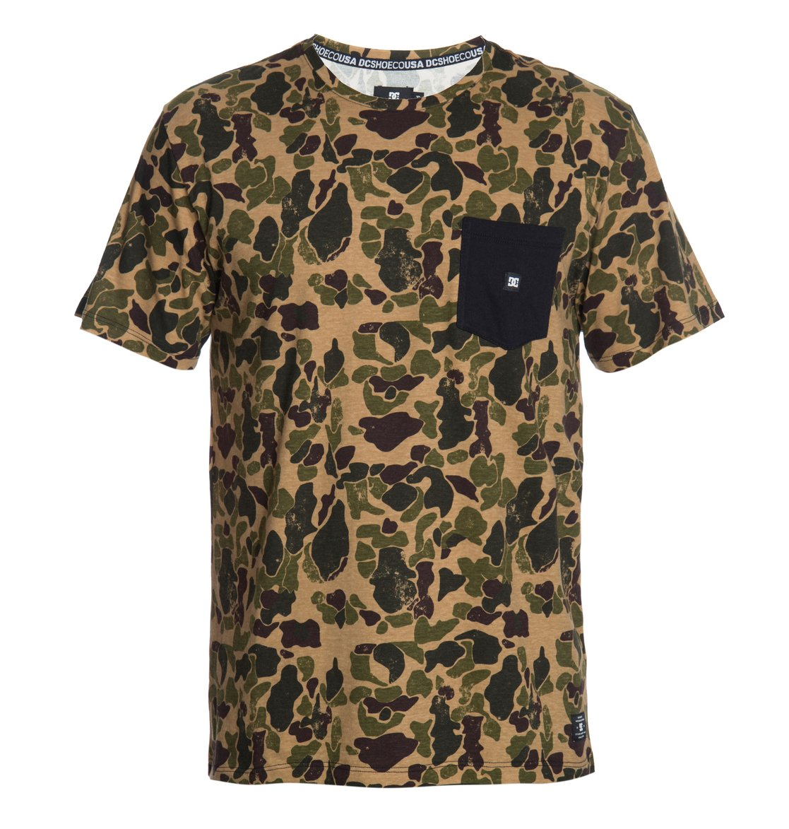 501714f29ac 0 Camiseta Masculina Manga Curta Estampada com Bolso DC Shoes BR61142703 DC  Shoes