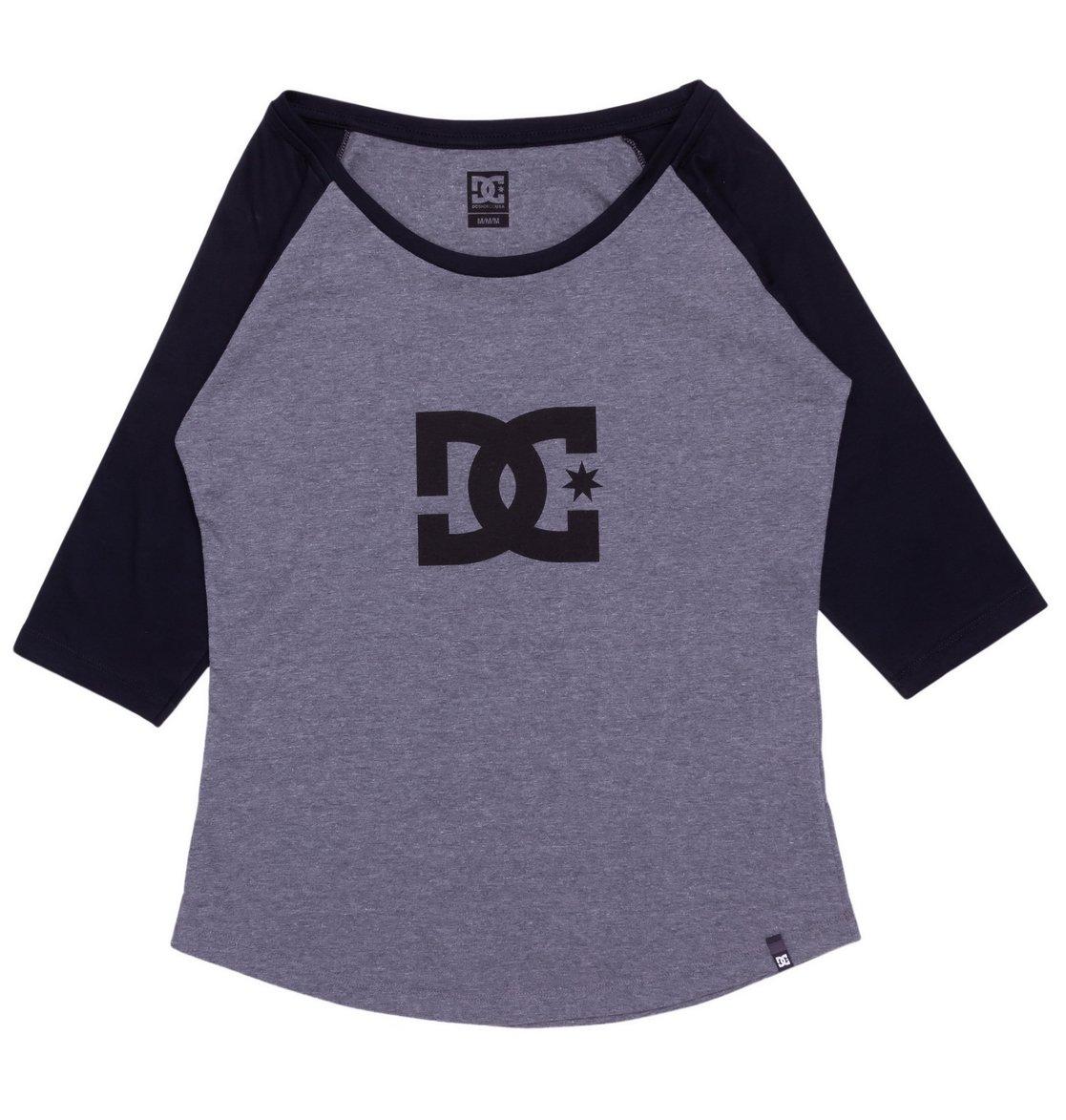 59d6297fd8 Camiseta Feminina 3/4 Star Raglan DC Shoes BR7909447415541 | DC Shoes