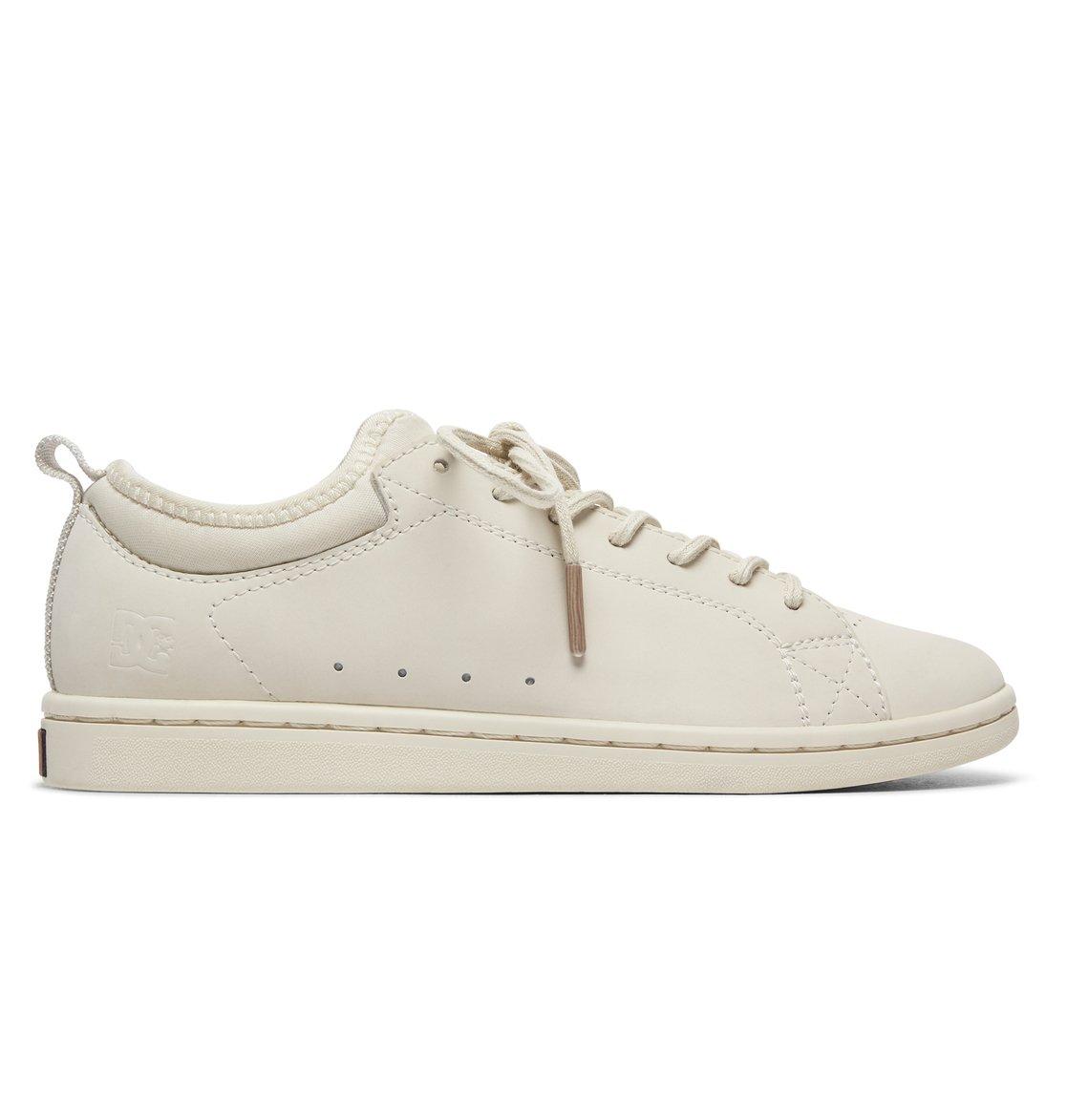 9de8804a2 0 Tenis Cano Baixo Feminino DC Shoes Magnolia SE Branco BRADJS100104 DC  Shoes