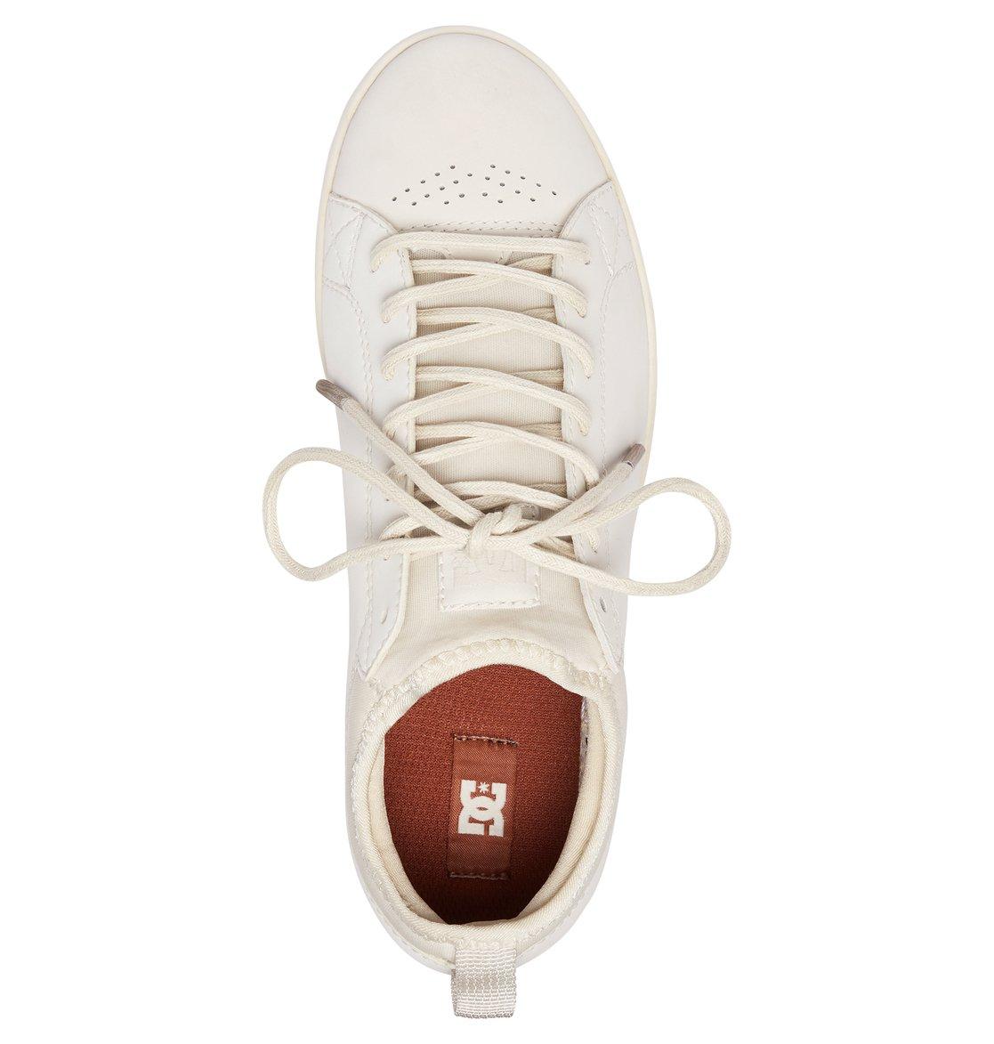 8a60afec3 3 Tenis Cano Baixo Feminino DC Shoes Magnolia SE Branco BRADJS100104 DC  Shoes