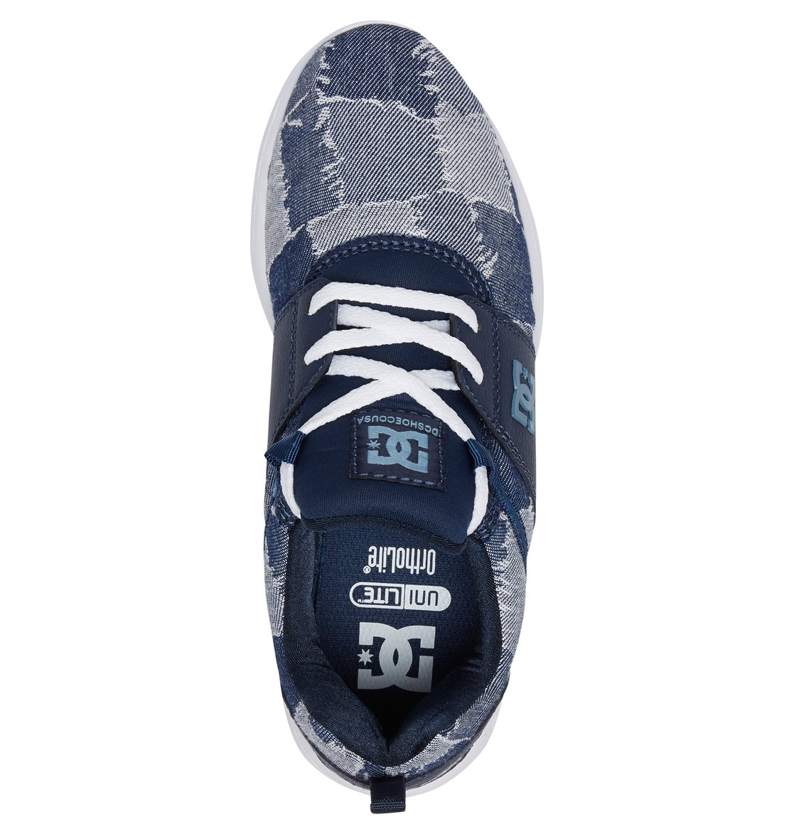 d5b723c41 3 Tenis Feminino DC Shoes Heathrow TX LE Azul BRADJS700049 DC Shoes