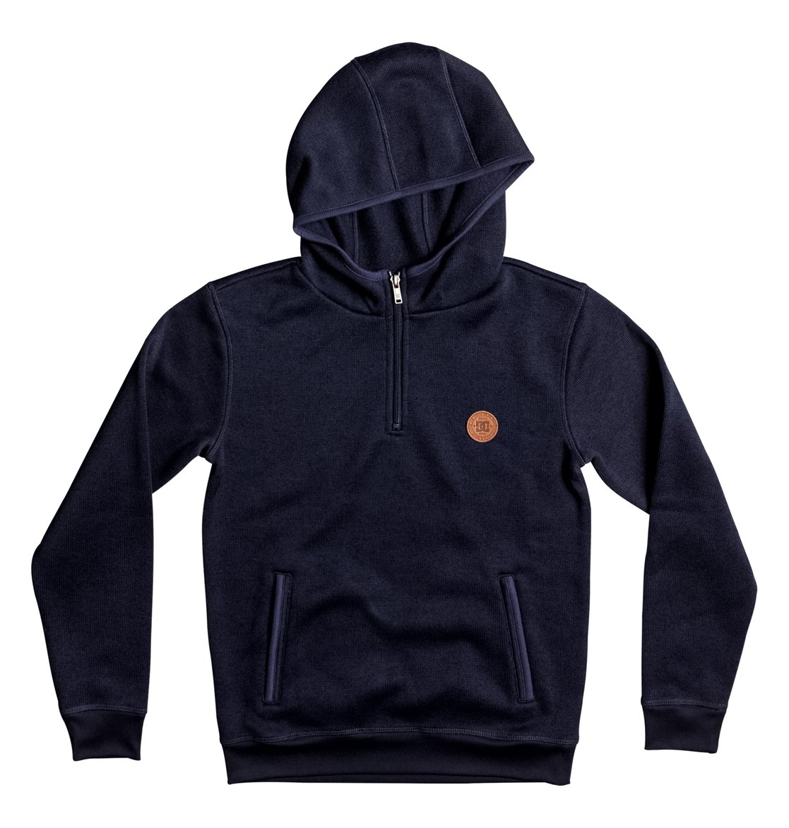 online retailer f0927 97652 Elby - Felpa in pile con cappuccio e mezza zip EDBPF03009 ...