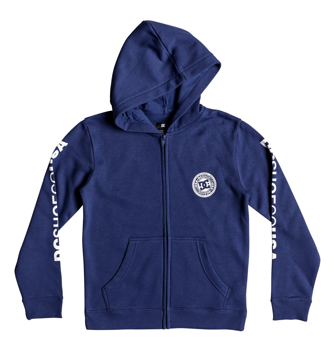 52894741857 0 Circle Star - Zip-Up Hoodie Blue EDBSF03091 DC Shoes