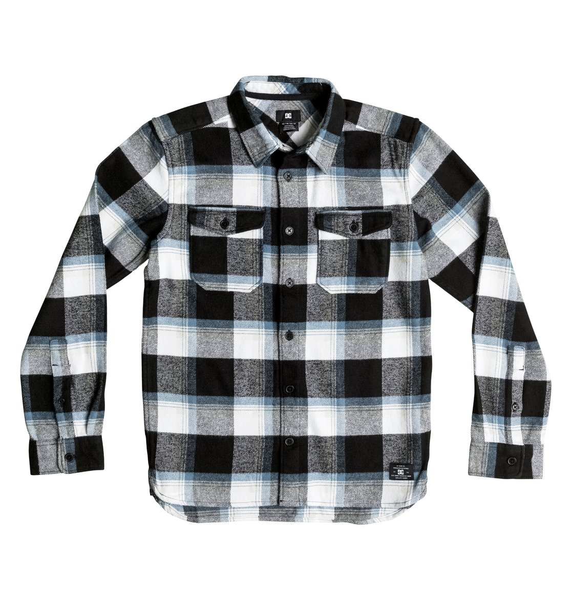 9b8da3594 0 Boy's 8-16 Marsha Flannel Long Sleeve Shirt EDBWT03017 DC Shoes