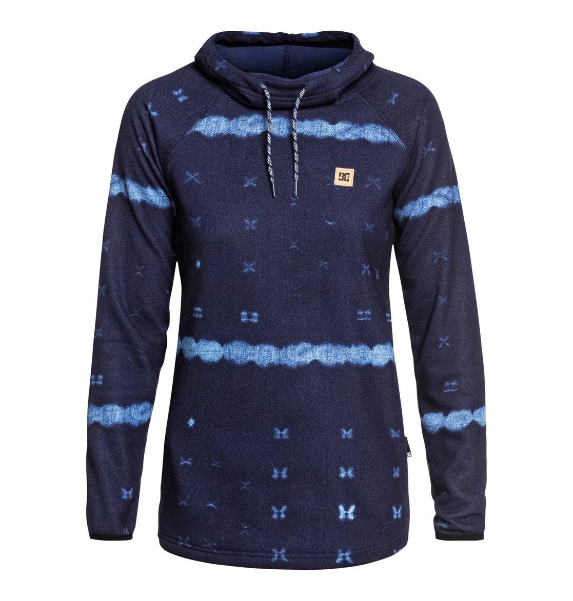 0a389943ab7c 0 Salem - Sudadera técnica con capucha para Mujer Azul EDJFT03060 DC Shoes