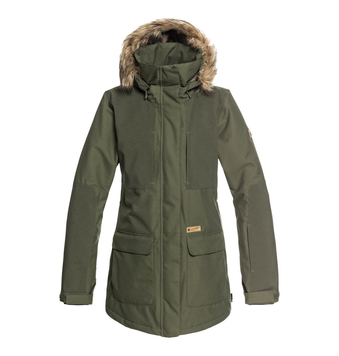 935543b76 0 Panoramic - Chaqueta parka para nieve para Mujer Verde EDJTJ03032 DC Shoes