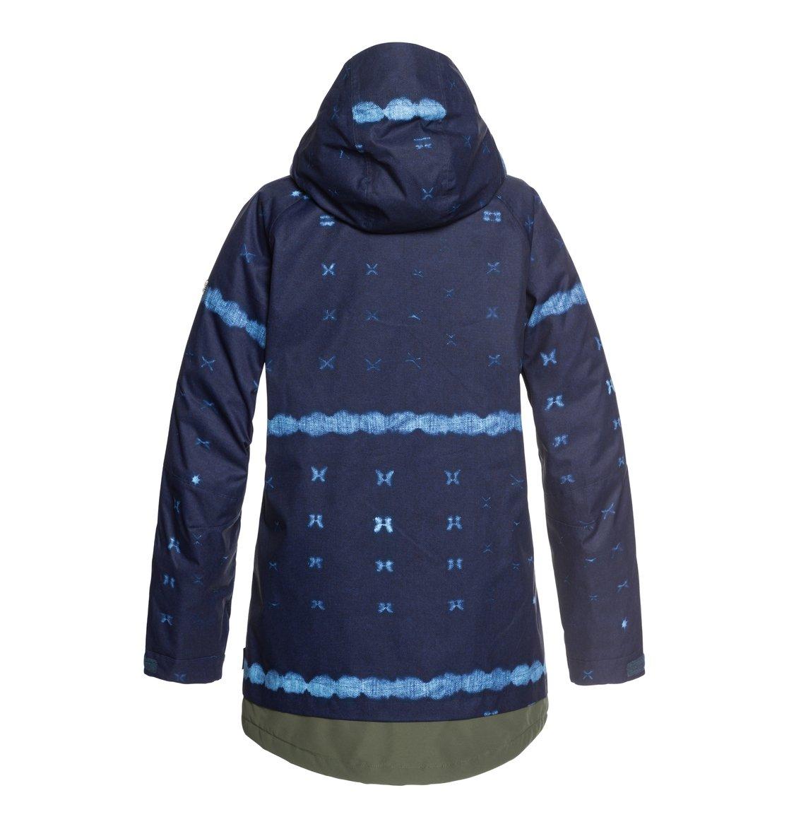 441441c4f76 1 Riji - Chaqueta parka para nieve para Mujer Azul EDJTJ03035 DC Shoes