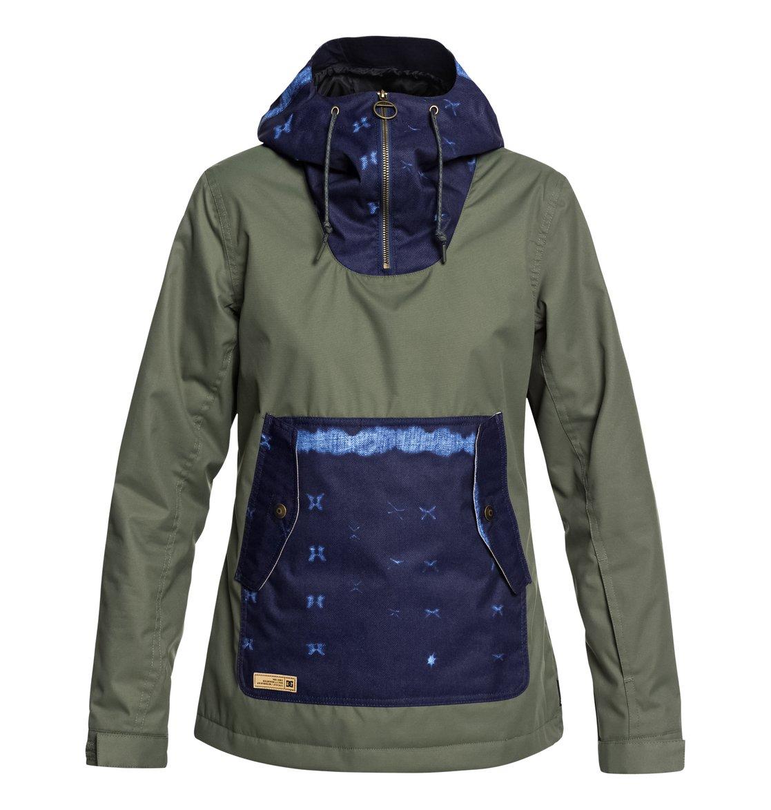 9d5f11ec0aa 0 Women s Skyline Snow Jacket Green EDJTJ03038 DC Shoes