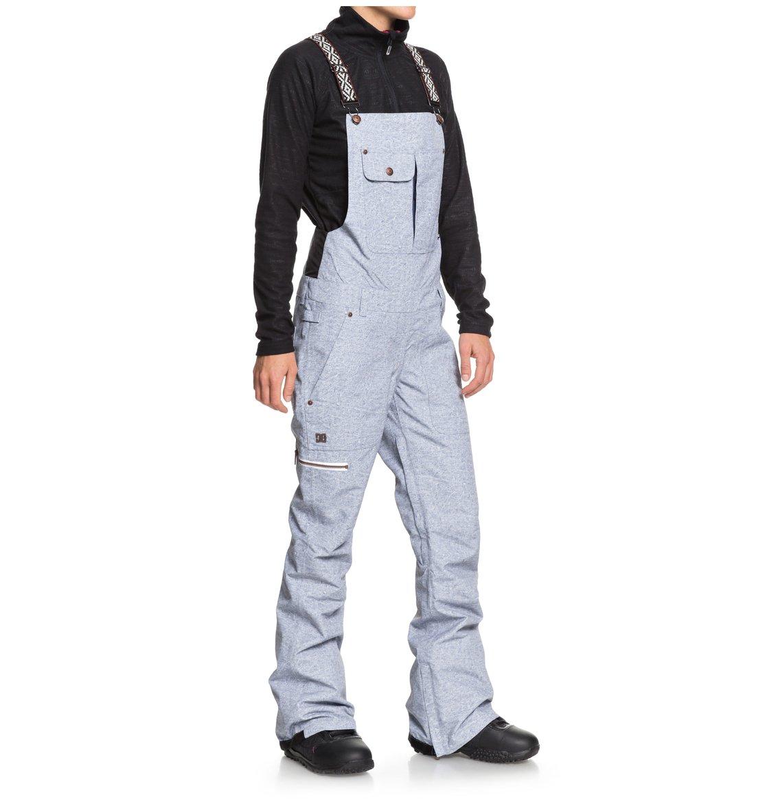 0cc266f6a2 1 Collective - Pantalón de peto para nieve para Mujer Azul EDJTP03016 DC  Shoes