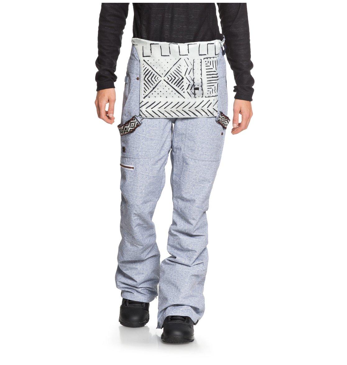 76840f0e32 2 Collective - Pantalón de peto para nieve para Mujer Azul EDJTP03016 DC  Shoes