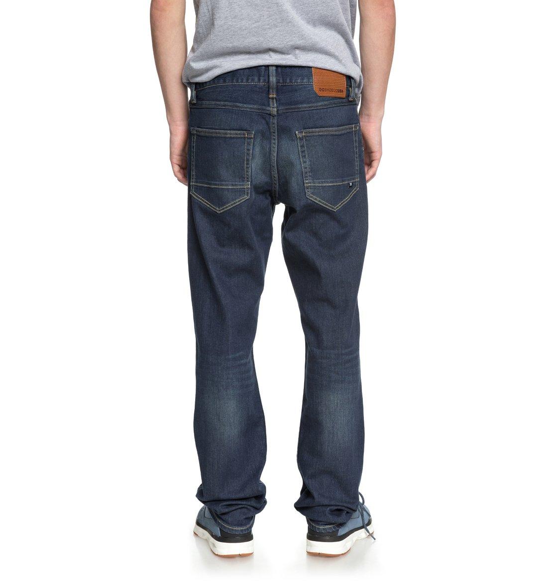1beddd507d 3 Worker Medium Stone Straight Fit Jeans EDYDP03365 DC Shoes