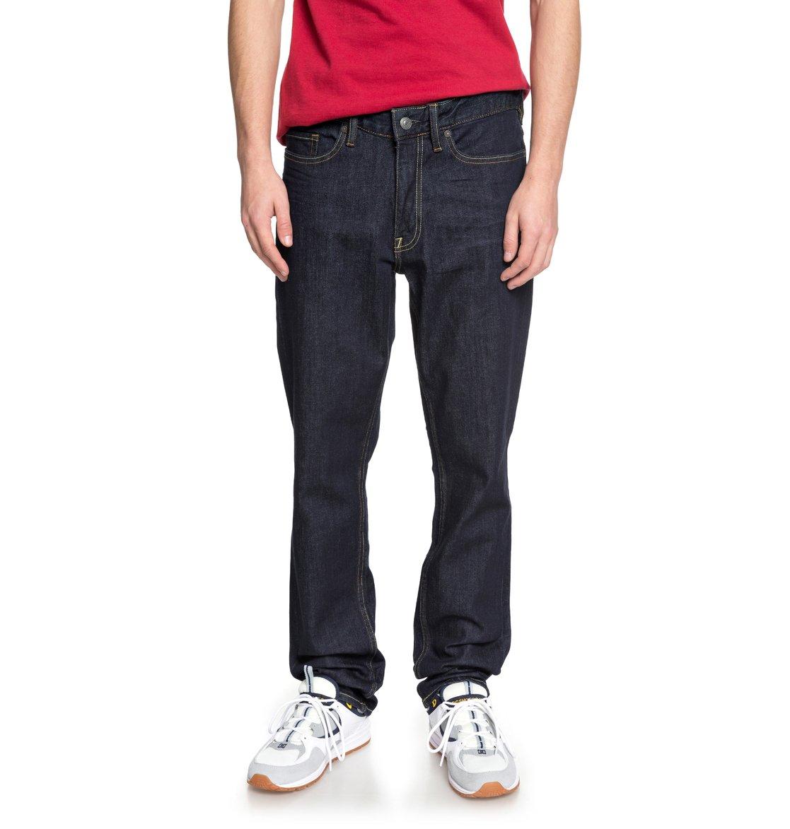 7e9ef9014a 0 Worker Indigo Rinse - Vaquero de Corte Recto para Hombre Azul EDYDP03370 DC  Shoes