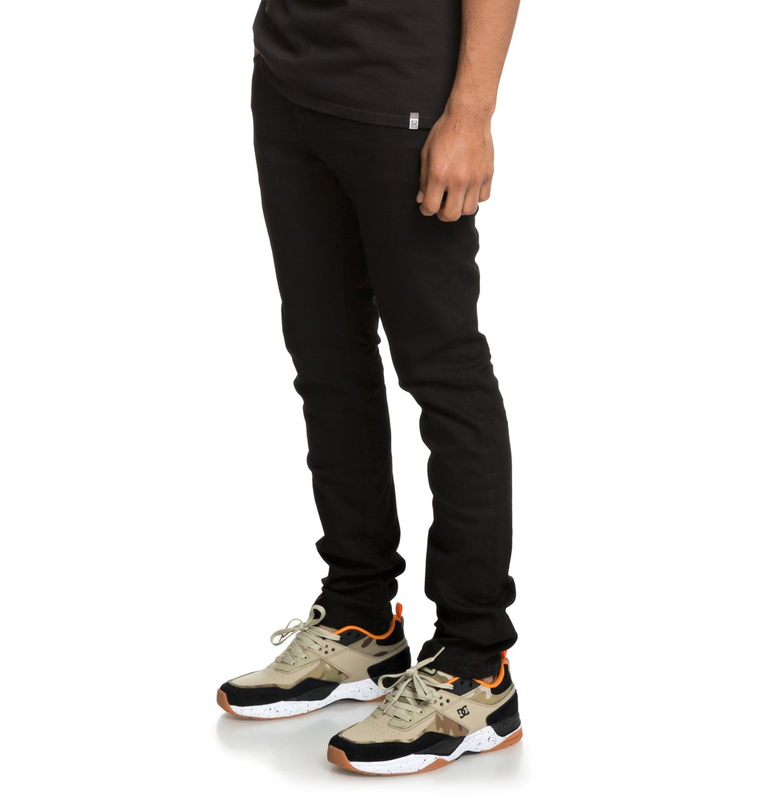 2f5adbf6 2 Worker Black - Slim Fit Jeans for Men Black EDYDP03383 DC Shoes