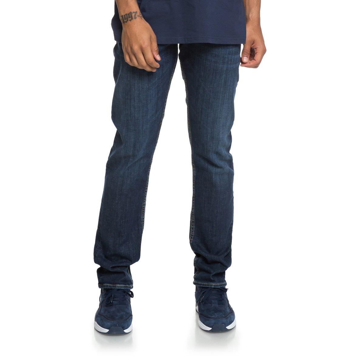 e10553fb67 0 Worker Medium Stone - Vaquero de Corte Recto para Hombre Azul EDYDP03388 DC  Shoes