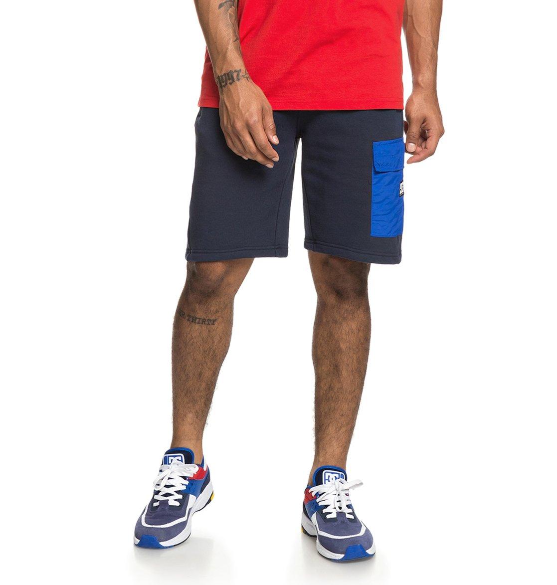 d8e91f79 0 Simmons - Sweat Shorts for Men Blue EDYFB03057 DC Shoes