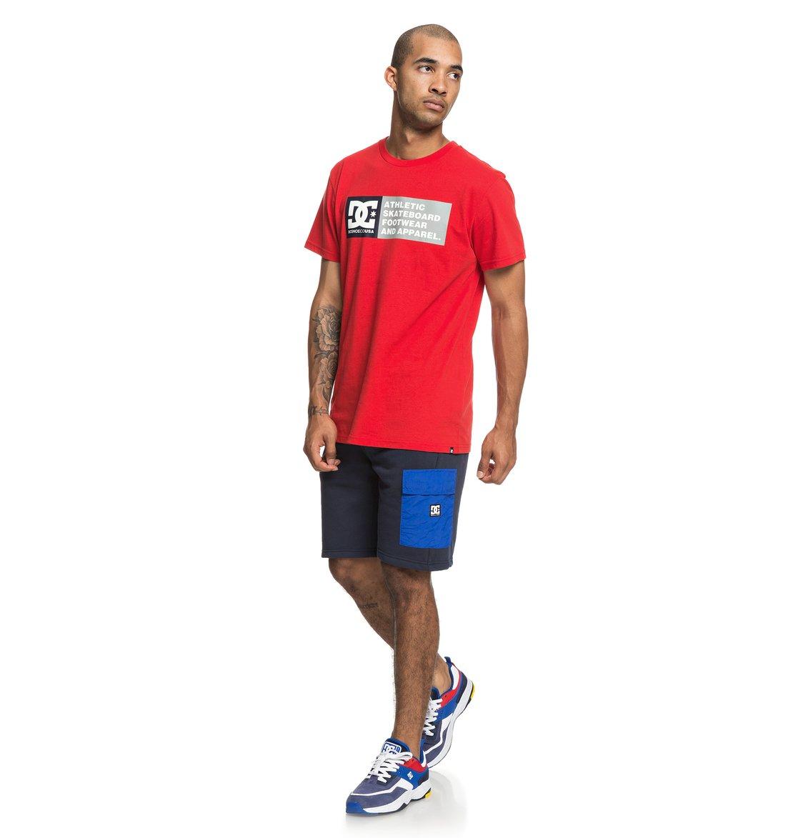 3a187c12 4 Simmons - Sweat Shorts for Men Blue EDYFB03057 DC Shoes