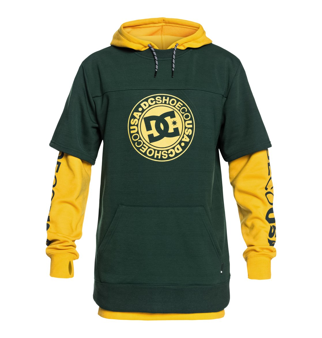 32d7284f38 0 Dryden - Technical Hoodie for Men Green EDYFT03363 DC Shoes