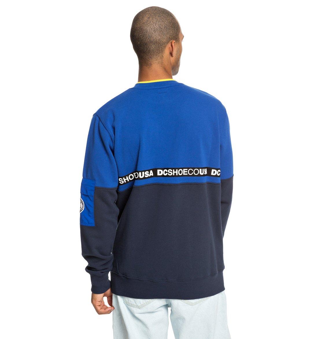 d2ed3529 5 Simmons Sweatshirt Blue EDYFT03419 DC Shoes