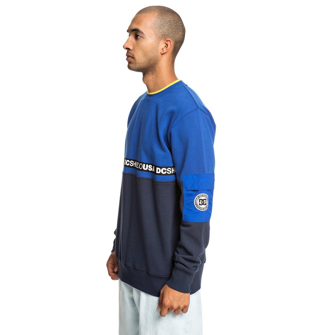 a2420089 1 Simmons Sweatshirt Blue EDYFT03419 DC Shoes