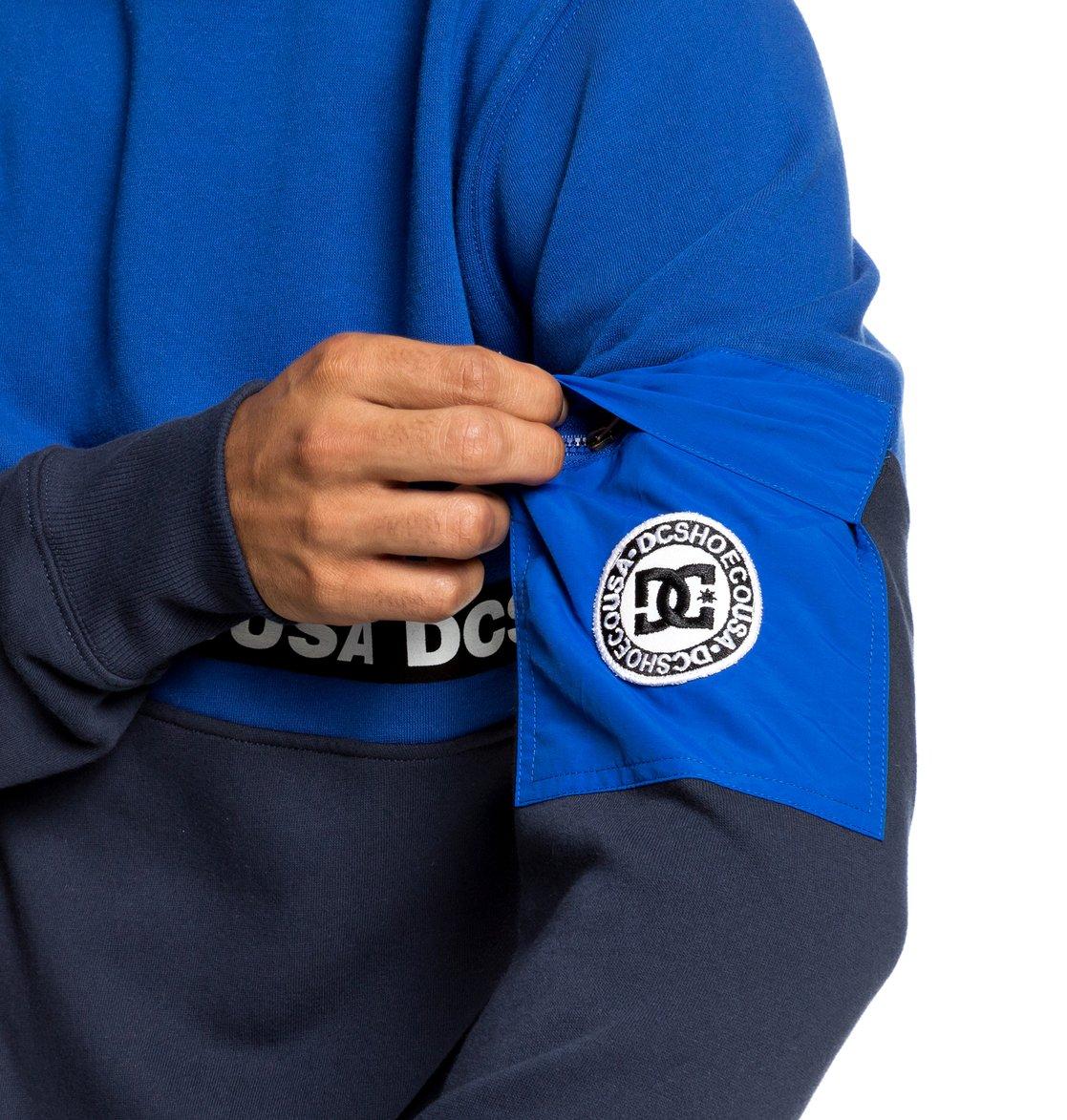34c60a51 2 Simmons Sweatshirt Blue EDYFT03419 DC Shoes