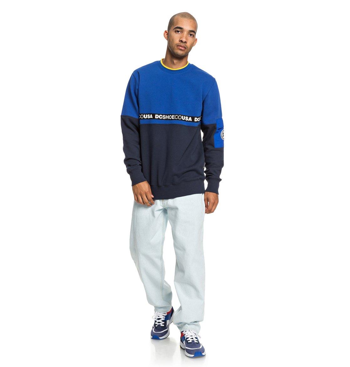 34edb32a 4 Simmons Sweatshirt Blue EDYFT03419 DC Shoes