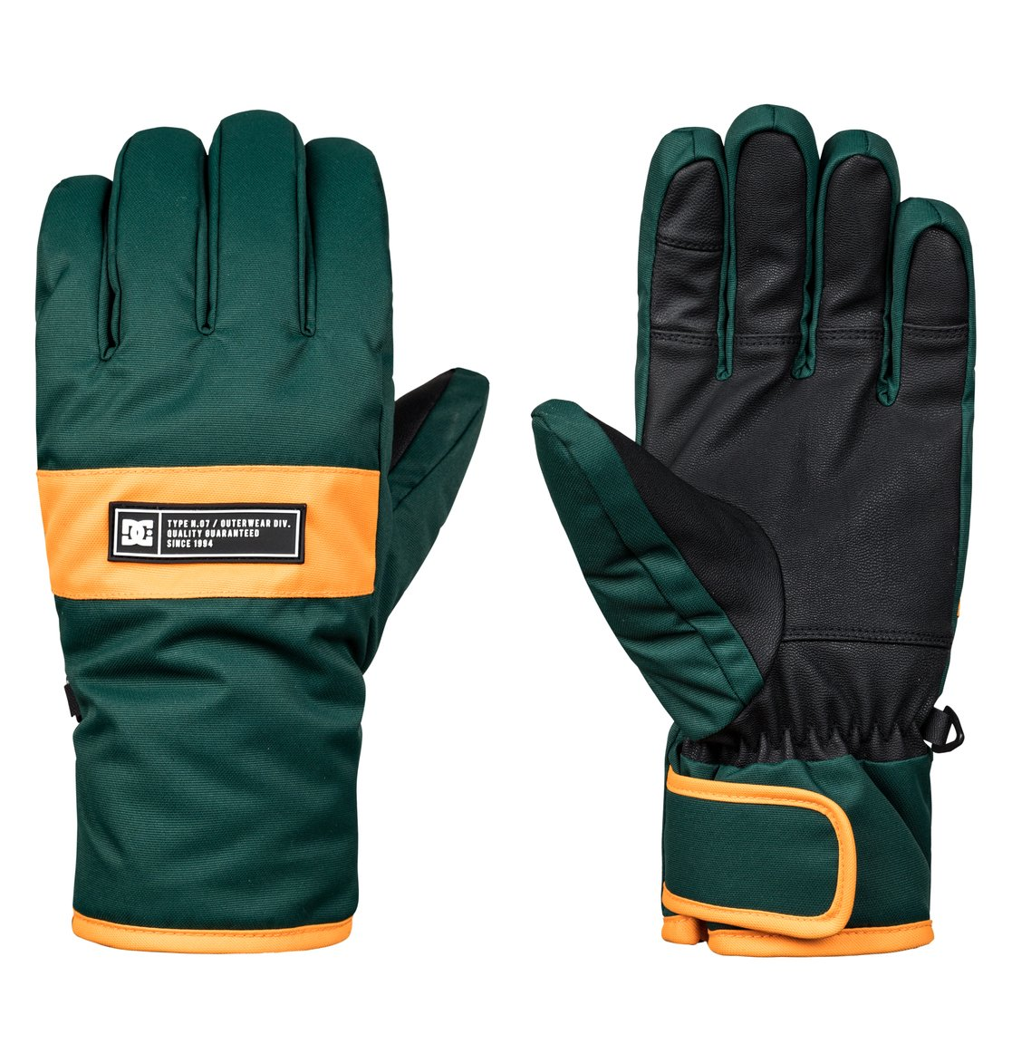 0571ad8f434a 0 Franchise - Ski Snowboard Gloves for Men Green EDYHN03036 DC Shoes