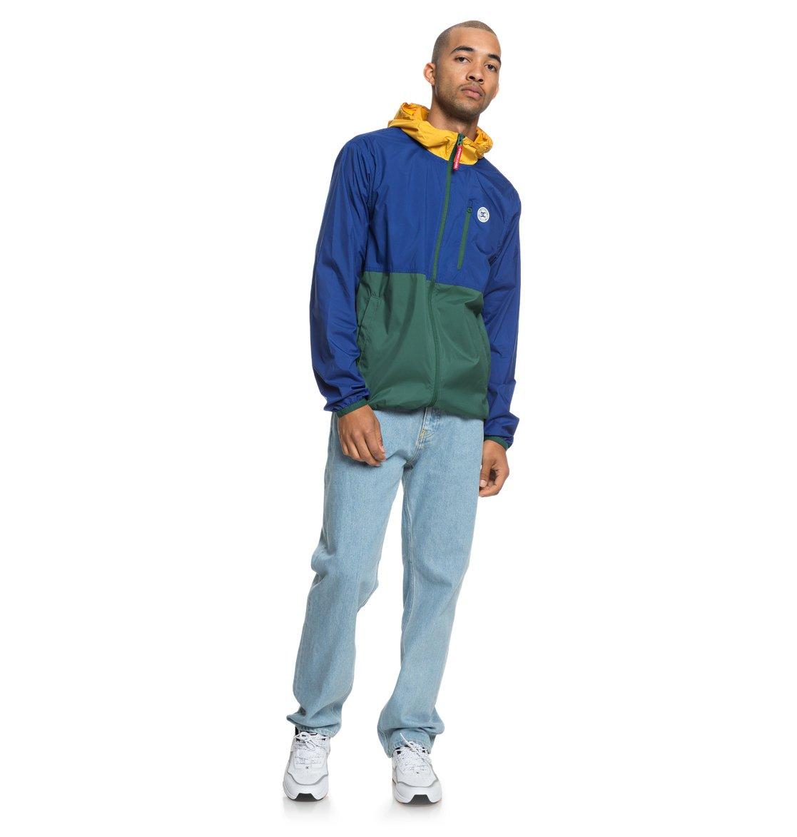 DC-Shoes-Dagup-Triple-Block-Corta-vientos-resistente-al-agua-para-Hombre miniatura 9