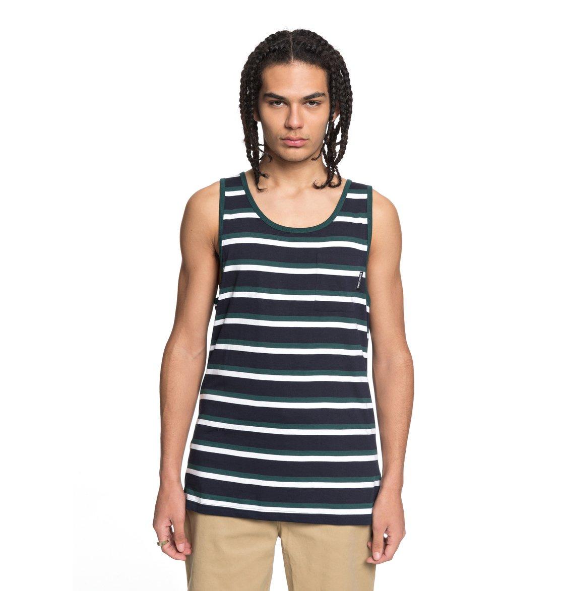 6ac37394a48a2a 0 Oakride - Camiseta de Tirantes con Bolsillo para Hombre Azul EDYKT03382  DC Shoes