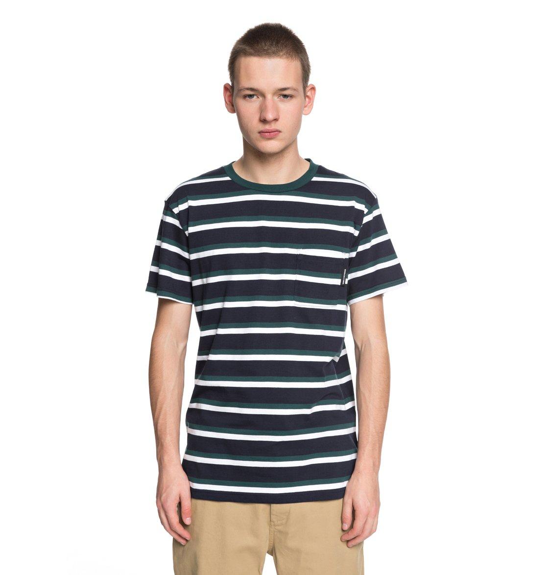 f962d85be73127 0 Oakride - Camiseta con Bolsillo para Hombre Azul EDYKT03393 DC Shoes