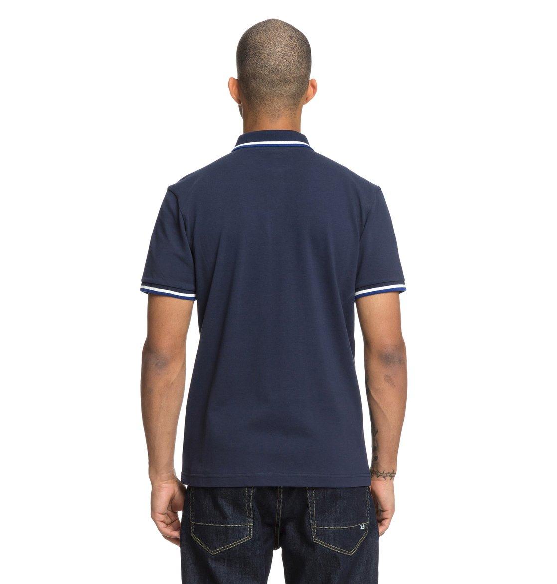 5d9190f7f 4 Lakebay - Camisa polo de manga corta para Hombre Azul EDYKT03411 DC Shoes