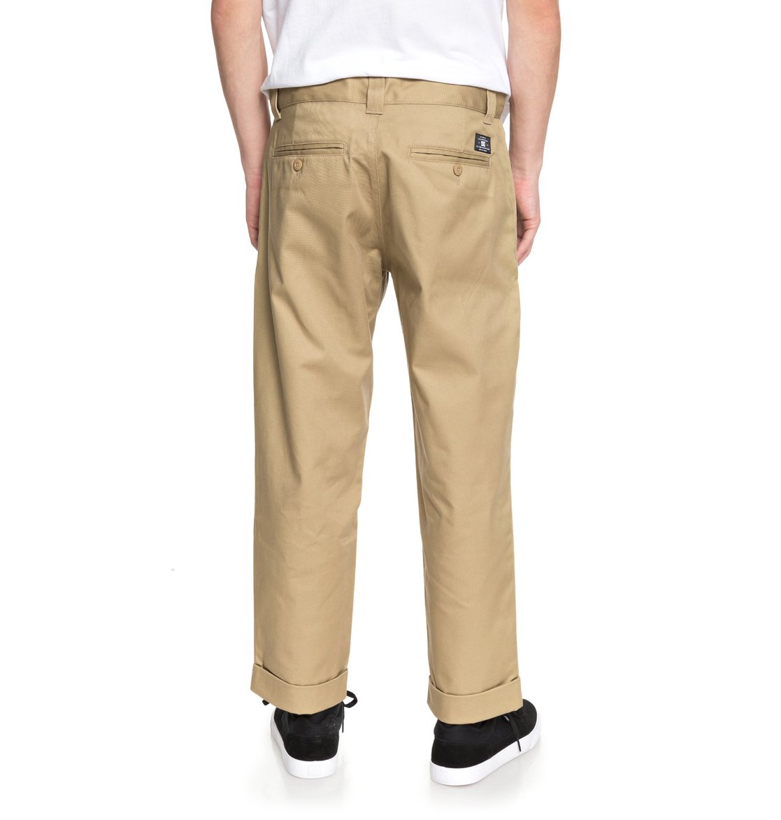 2a8fff61c5 3 Rolled On - Pantalón Chino Ancho para Hombre EDYNP03134 DC Shoes