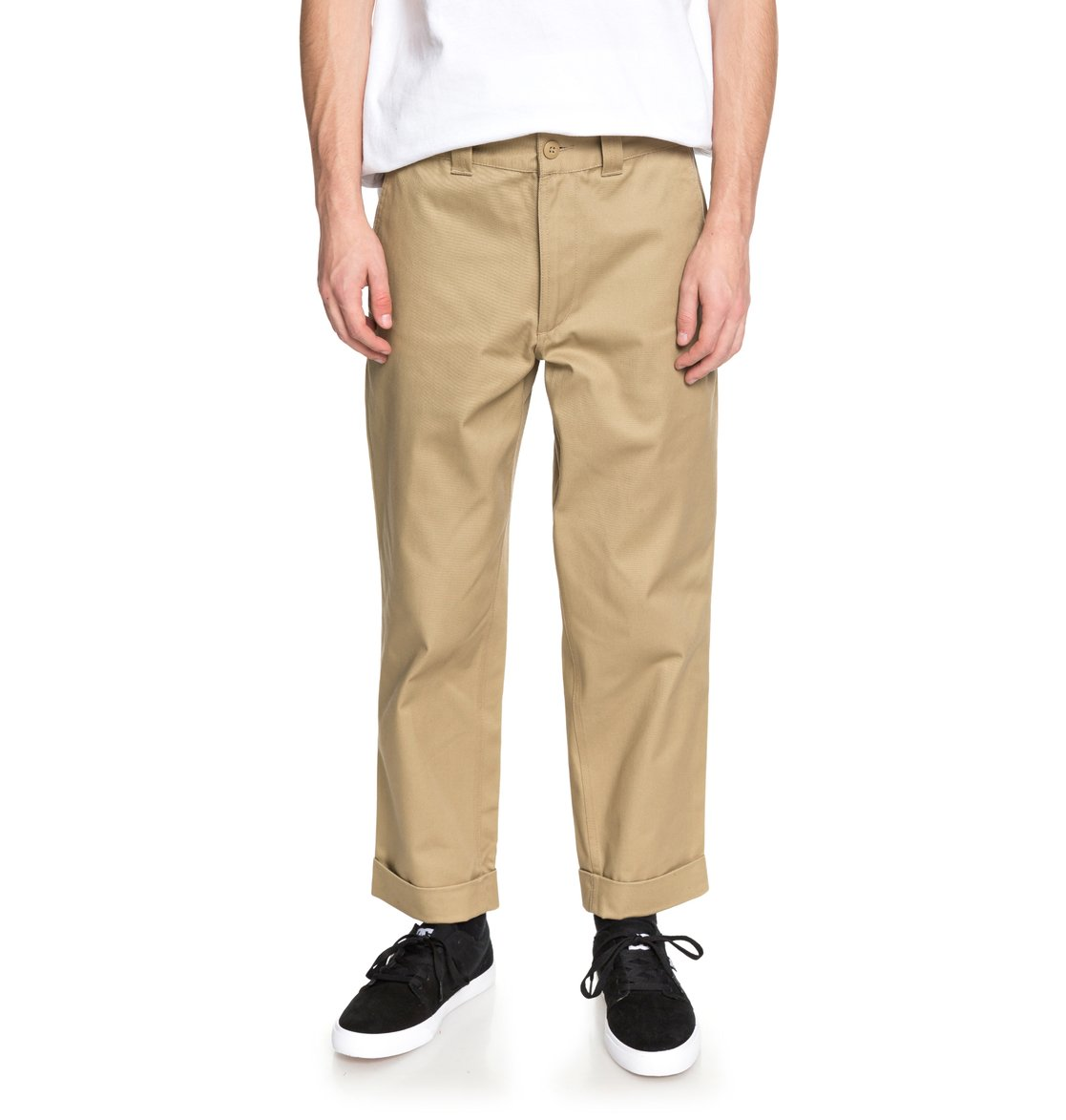 6650c8e06f5d 0 Rolled On Baggy Chinos EDYNP03134 DC Shoes