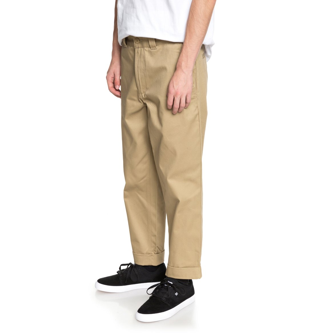 1418dbf012 1 Rolled On - Pantalón Chino Ancho para Hombre EDYNP03134 DC Shoes