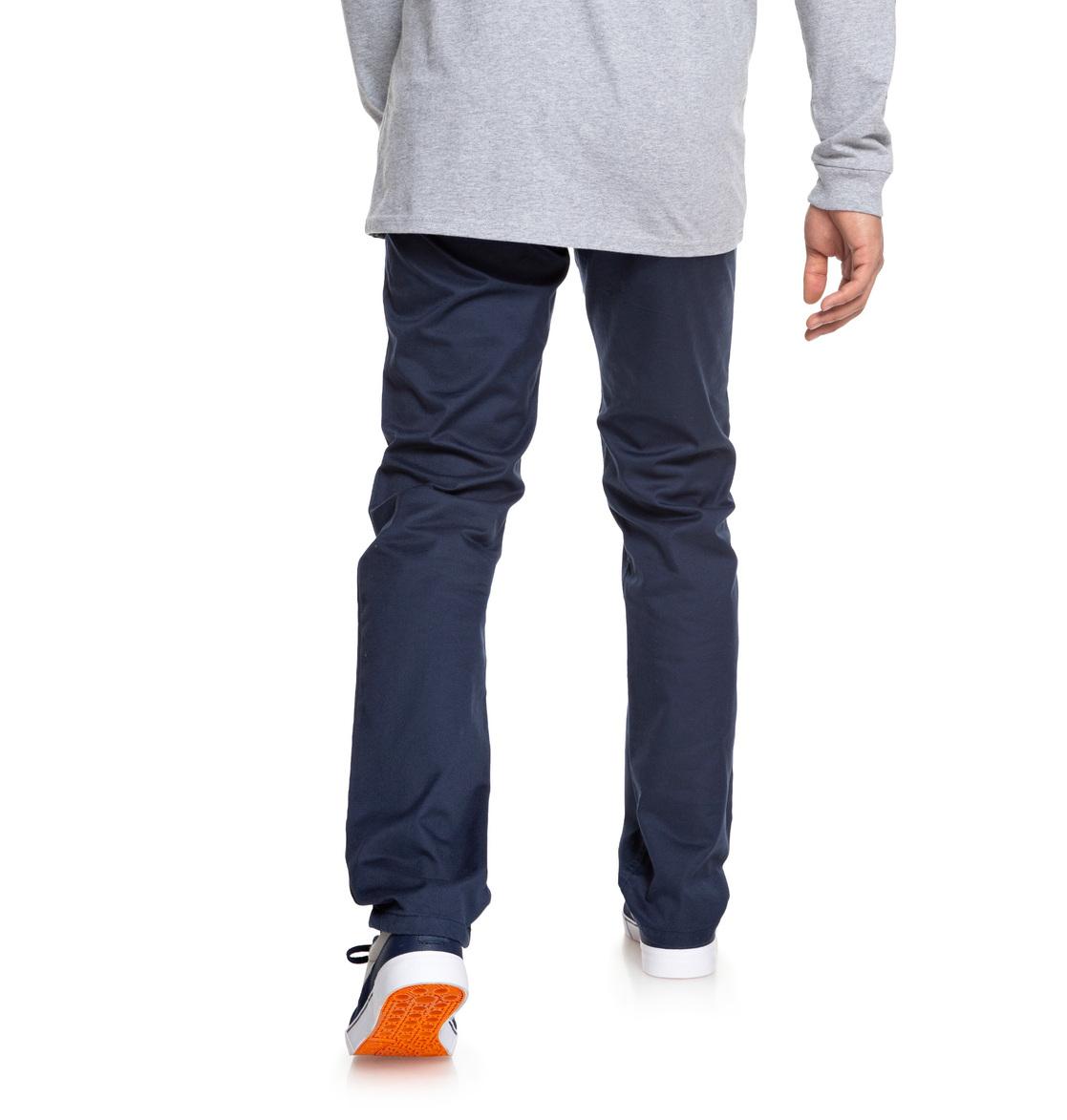 fb135d8bb6 5 Worker - Vaqueros de corte recto para Hombre Azul EDYNP03136 DC Shoes