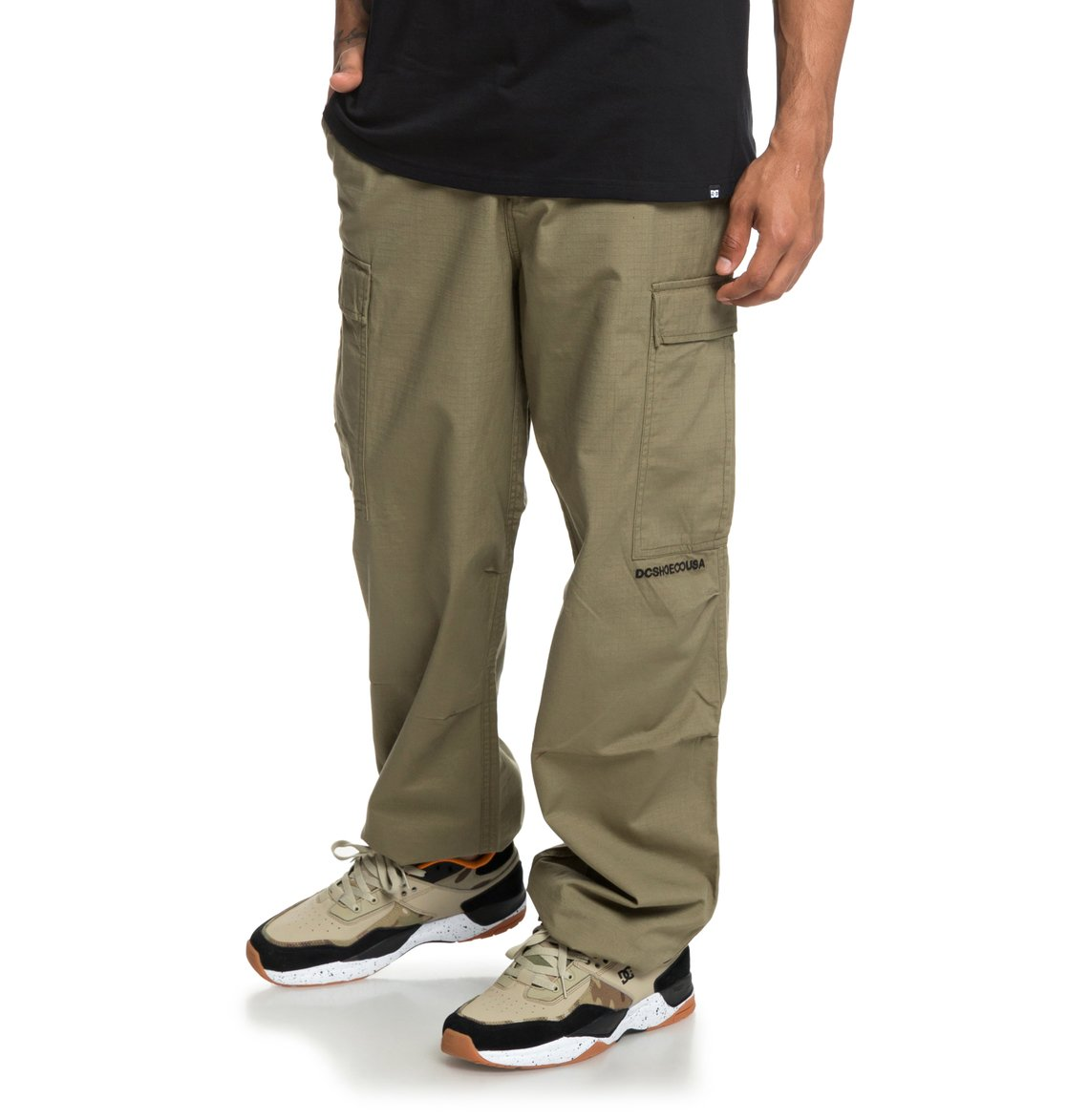 DC Shoes Mens Shoes Infield Military Cargo Pants Edynp03140