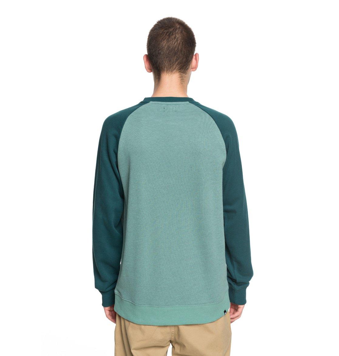 Mens T-Shirts DC Shoes Rebuilt 2 T-Shirt Deep Sea