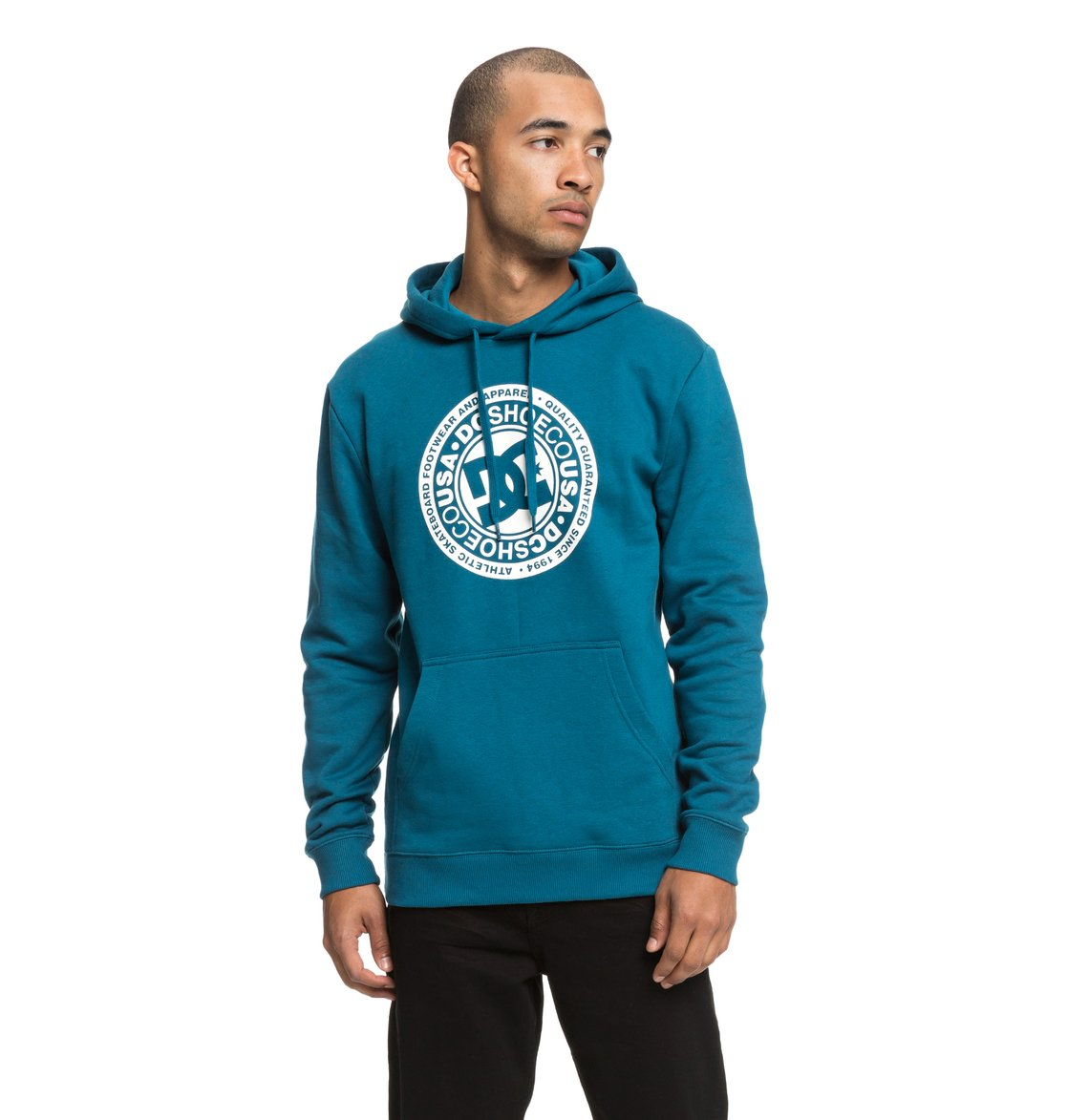 70f7e515 0 Circle Star - Hoodie for Men Blue EDYSF03166 DC Shoes