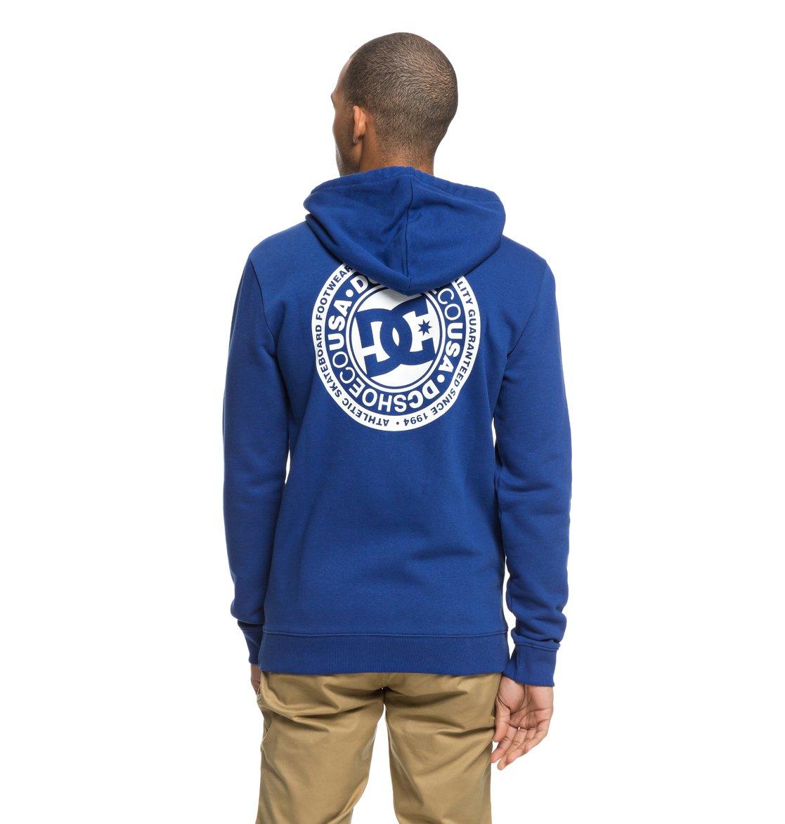 92a7587bc90 4 Circle Star - Sweat à capuche zippé pour Homme Bleu EDYSF03174 DC Shoes