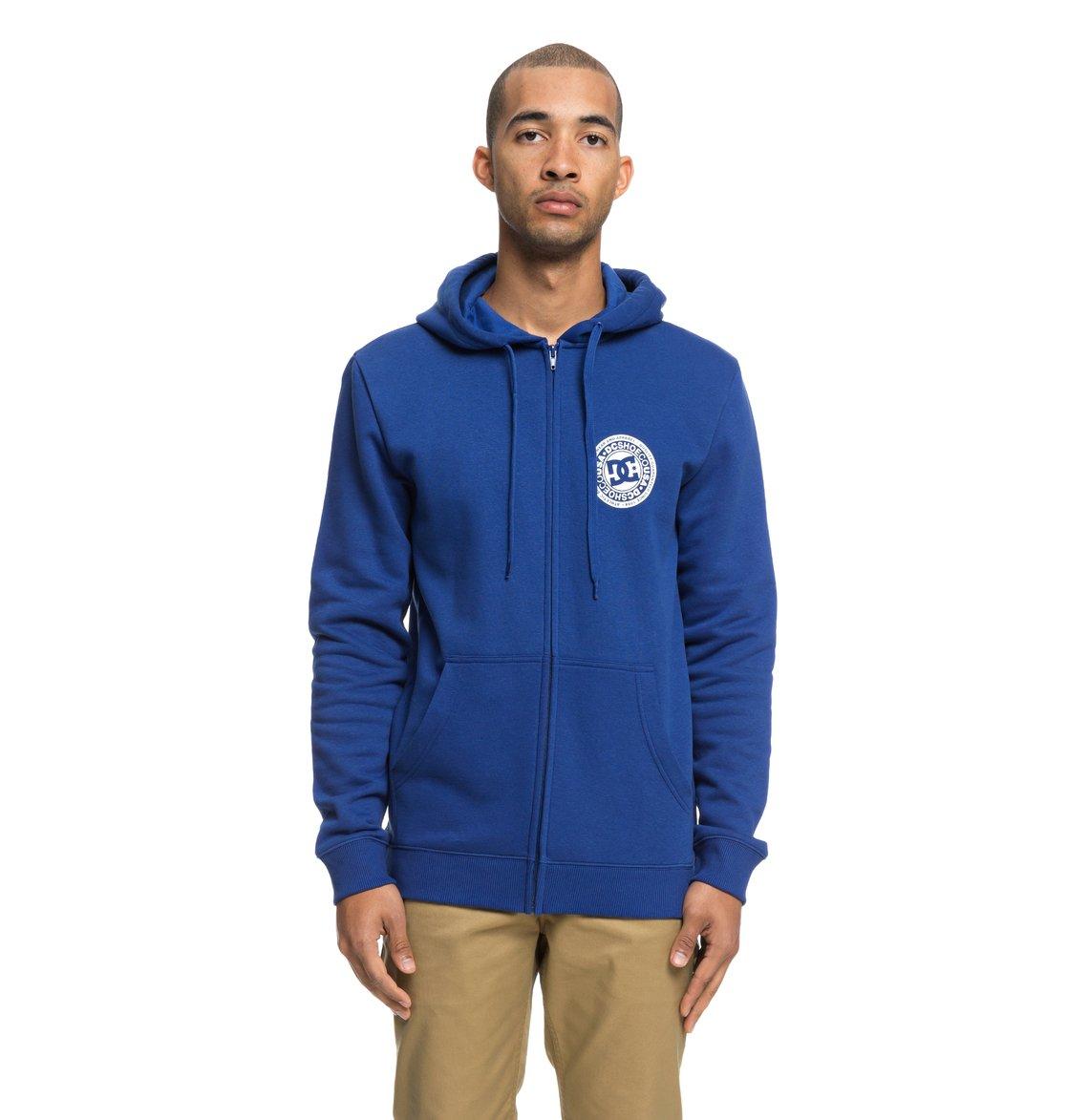 5a39e30c3a4 0 Circle Star - Sweat à capuche zippé pour Homme Bleu EDYSF03174 DC Shoes