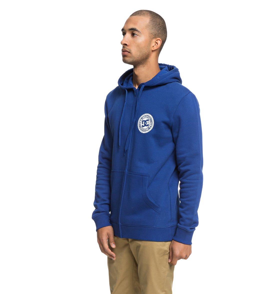954b7b7ba29 1 Circle Star - Sweat à capuche zippé pour Homme Bleu EDYSF03174 DC Shoes