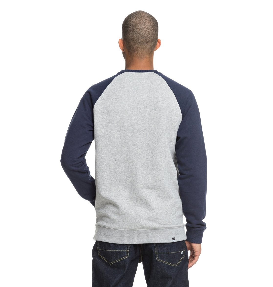 5a3170e78f2c 4 Circle Star Sweatshirt Blue EDYSF03177 DC Shoes